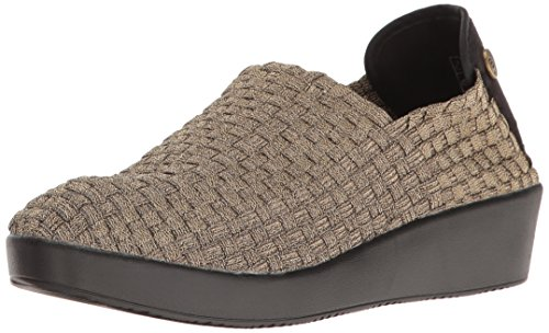 Bernie Mev Frauen Smooth Cha Cha Slip-On Loafer Bronze
