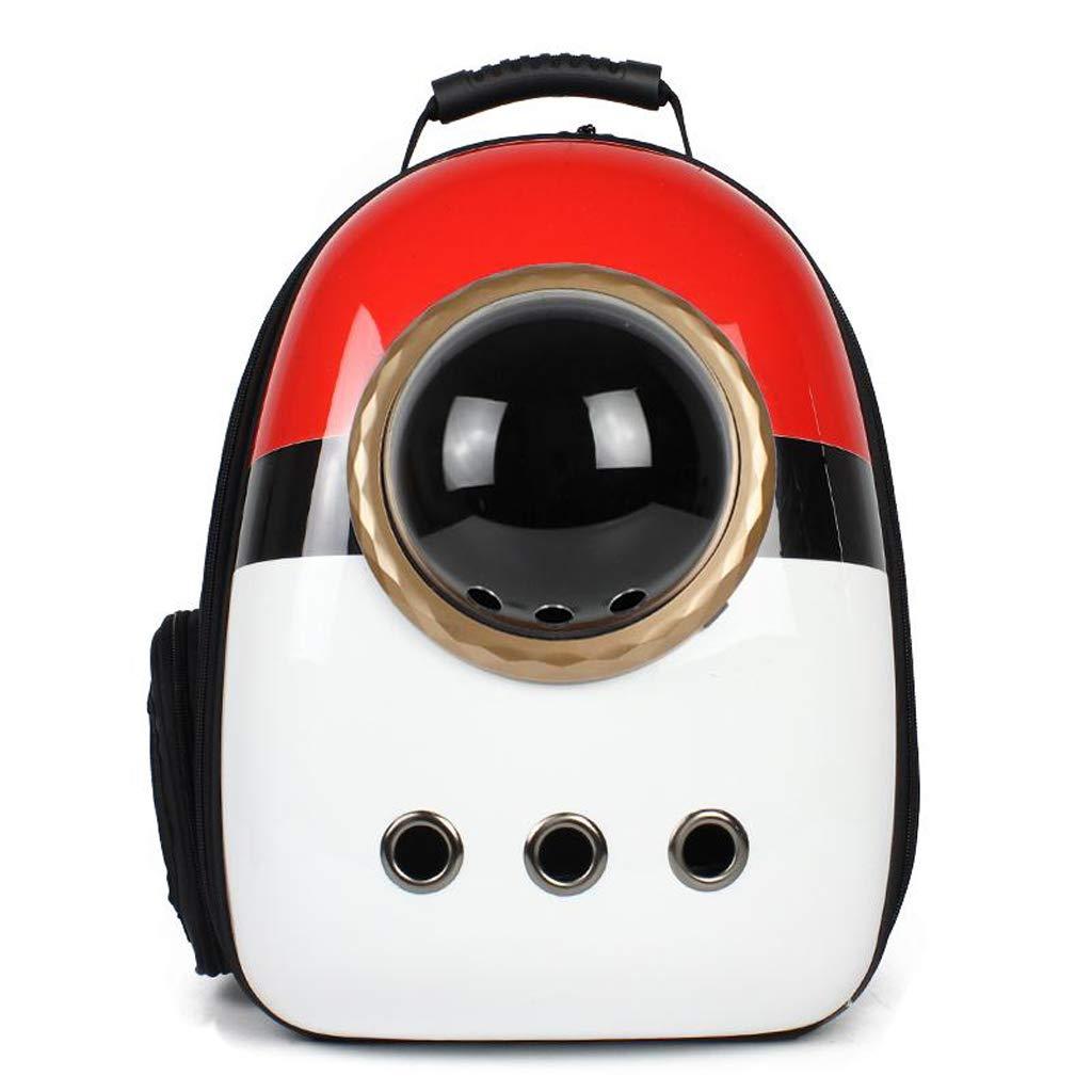 golden accessories Space Pet Bag Cat Bag Out Portable Cat Cage Shoulder Bag Cat Supplies Cat Backpack (color   golden Accessories)