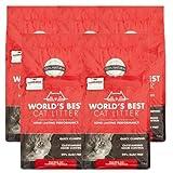 World's Best Cat Litter Multiple Cat Clumping Formula (15 lbs), 5 Pack