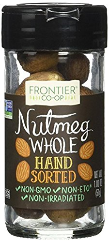 Frontier Herb Nutmeg Whole Hand Sorted, 1.8 Ounce