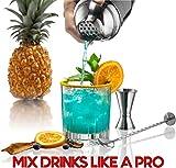 Cocktail Shaker Set Drink Mixer // 8-piece Portable