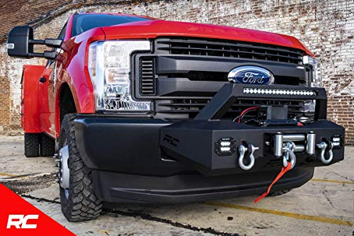 Rough Country EXO Winch Mount (fits) 2017-2019 Super Duty F250 (F-250) F350 (F-350) 51004 Winch Mount F-250