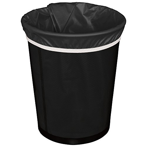 (Planet Wise Reusable Trash Diaper Bag, Black)