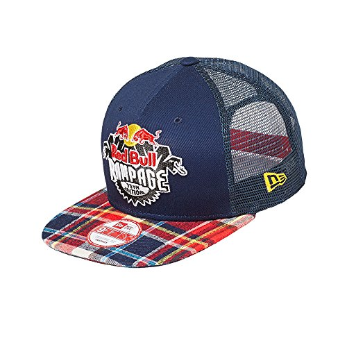 Red Bull Rampage 2016 Plaid Trucker - Bull Red New Era