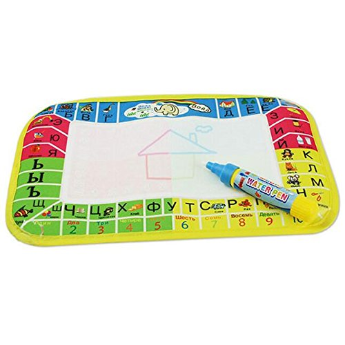Elaco Children Doodle Drawing Toys 1 Painting Mat + 1 Water Drawing Pen Drawing Board/Drawing Mat