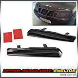 G-PLUS 1 Pair Mean Look Upper Headlight Cover