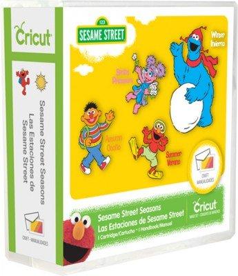 - Cricut Sesame Street Seasons Cartridge