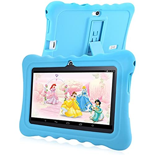 GBlife GBtiger 7.0 inch White WiFi GPS Bluetooth Capacitive Screen Android 4.4 Kids Tablet PC with 8GB ROM (Blue) Coupons