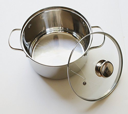 Cook N Home NC-00313 Double Boiler Steamer 4Qt silver by Cook N Home (Image #2)
