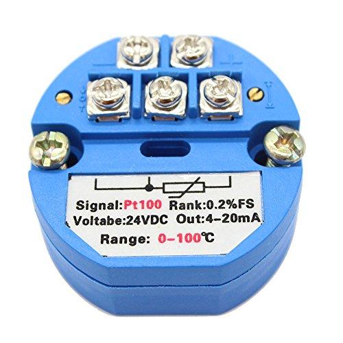 T-PRO RTD PT100 Temperature Sensor Transmitter Various Specification (0-100℃)
