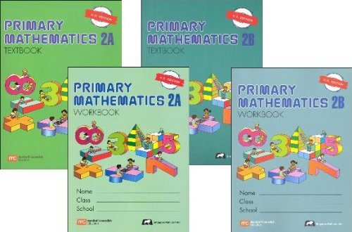 thematics Level 2 Kit (US Edition), Workbooks 2A and 2B, and Textbooks 2A and 2B (Math Text)