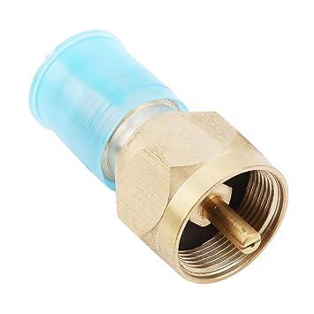 Faliya - Adaptador de Repuesto para Estufa de propano, Conector de Gas y Horno, cilíndrico, cilíndrico, para Campamento, Senderismo: Amazon.es: Hogar