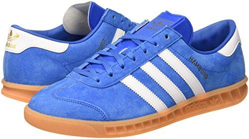 Homme Baskets gum ftwr Bleu Adidas Hamburg Originals Basses bluebird White EqCvwxfI