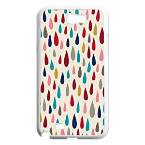 Raindrops DIY Cell Phone Case for Samsung Galaxy Note 2 N7100 LMc-51026 at LaiMc
