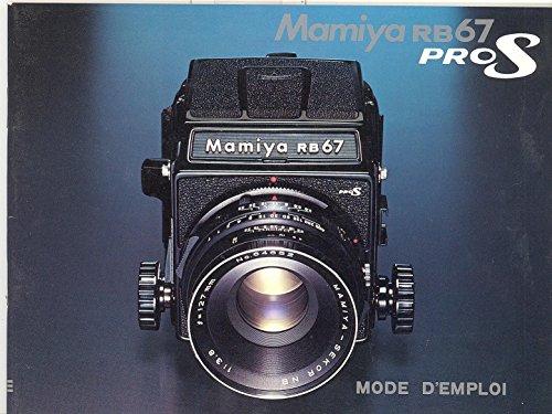 Mamiya RB67 ProS Mode d'Emploi