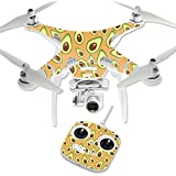 MightySkins Protective Vinyl Skin Decal for DJI Phantom 3 Standard Quadcopter Drone wrap cover sticker skins Orange Avocados