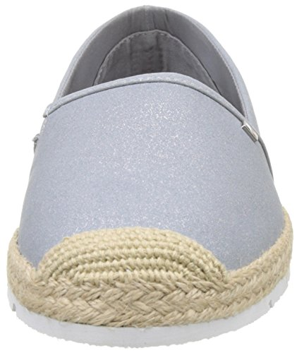 Women's argento Tommy L1285isas 2s Hilfiger Silver Espadrilles Int aqUPBnf