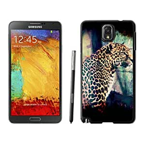 Samsung Note 3 Case,2015 Hot New Fashion Stylish Male leopard Black Case Cover for Samsung Note 3