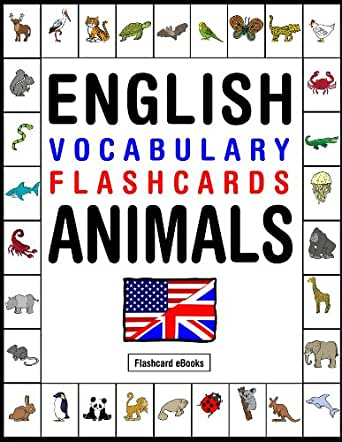 English Vocabulary Flashcards - Animals (FLASHCARD EBOOKS ...