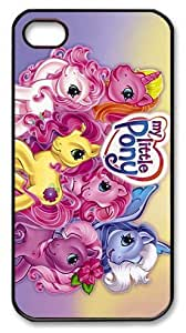LZHCASE Personalized Protective Case for iPhone 4/4S - My Little Pony