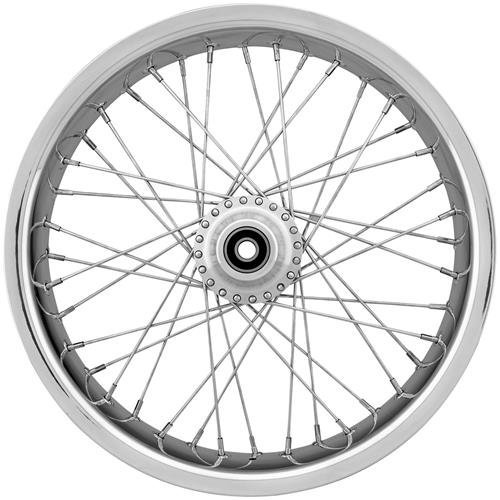 (Ride Wright Wheels Inc Exotica 40 Spoke 21x3.5 Front Wheel (Single Disc), Position: Front, Rim Size: 21 04234-815-EX-T)