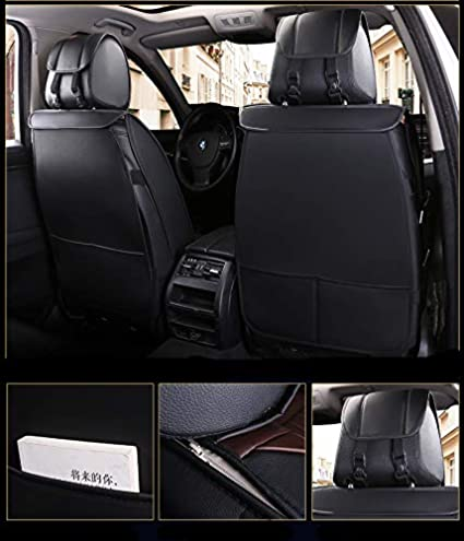 Airbag Compatible ,Easy Install,Fit for Most Hyundai Kia Honda Mazda Nissan Toyota Chevy corolla Black COLOGo 2 pc Auto car seat Covers Waterproof and Ventilated car seat Cushions