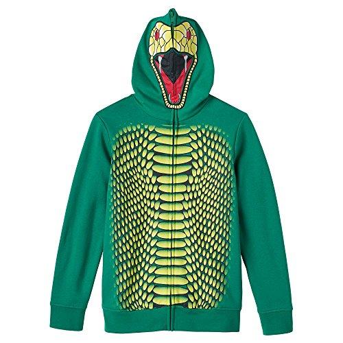 Boys Tony Hawk Dragon/Snake Hoodie (L (Dragon Hoodie Costume)