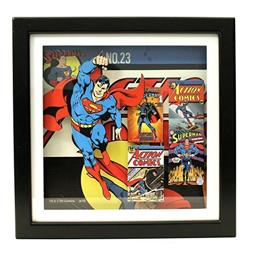 Silver Buffalo SP6206SB DC Comics DC Superman Shadow Box