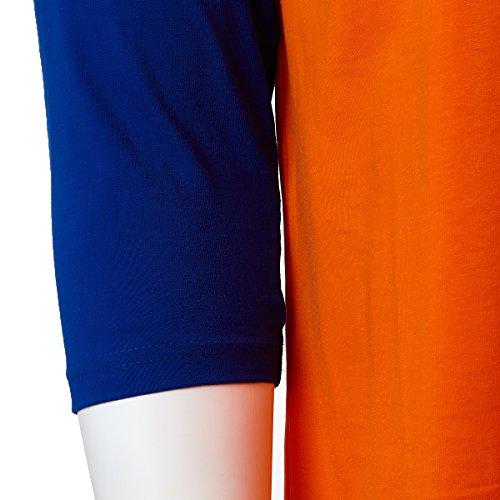 T 3 Rich Uomo Orange blu Unisex Cotone Classic shirt Raglan Maniche 4 Cotton Baseball 100 Donna 5XXxwqn4UR