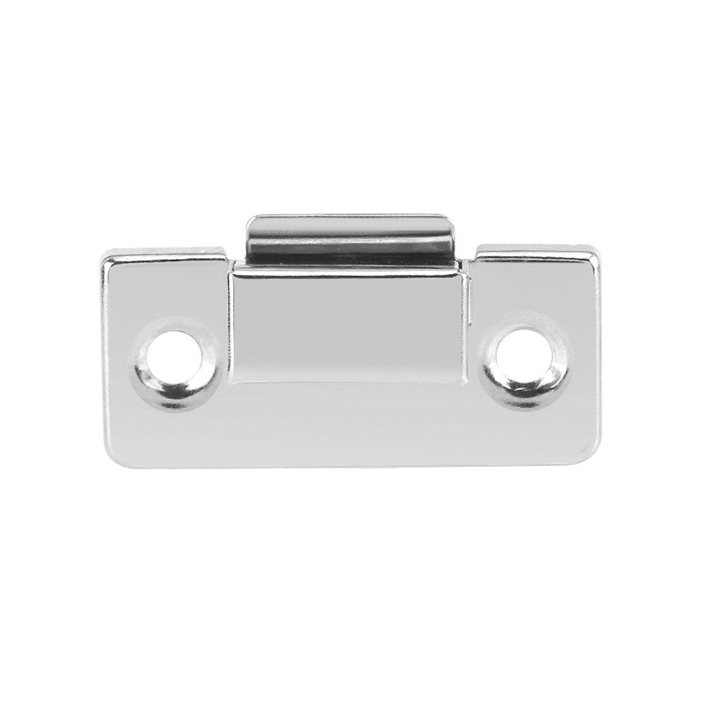 10 piezas Cierre de plata Cierre de palanca Caja de cofre de cierre Cajas de maleta Bloqueo de cofres Cerradura de repuesto para equipaje