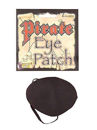 Deluxe Pirate Eyepatch Costume Accesory -
