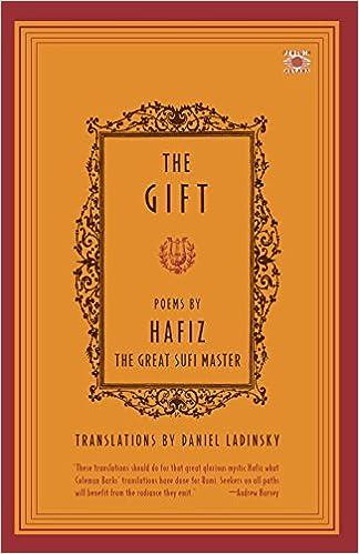 Amazon.com: The Gift (8601400194102): Hafiz, Daniel Ladinsky: Books