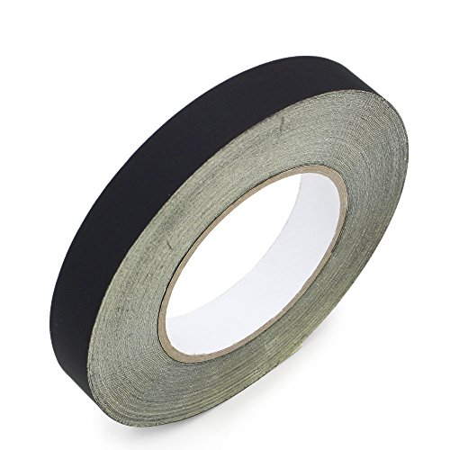 20mm x 30M 100ft Black Insulating Acetate Cloth Adhesive Tape For Automotive Electric Phone Repair by GENNEL