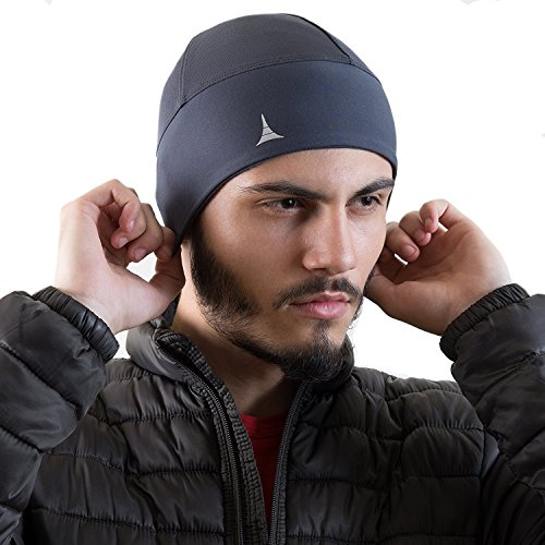 Helmet Liner Skull Cap Beanie. Ultimate Thermal Retention and Performance Moisture Wicking. Fits Under Helmets from French Fitness Revolution