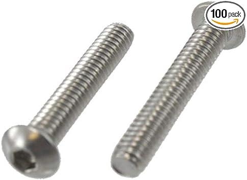 Button Head Socket Cap Screw 10-24 x 3//4 100 each
