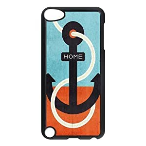 ALICASE Design Phone Case Anchor For Ipod Touch 5 [Pattern-1]