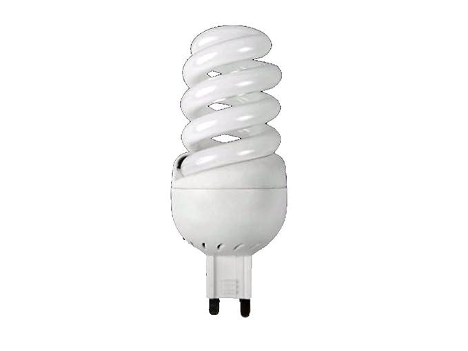 Lampada spirale g w luce calda k lumen v basso
