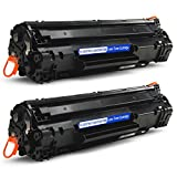 JARBO Compatible for Canon 128 Toner Cartridges High Yield, 2 Black, Use with Canon ImageClass D530 D550 MF4770n MF4880dw MF4890dw MF4570dn MF4450 FAXPHONE L190 L100