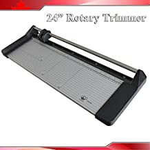 24In 620mm Rotary Photo Vinyl Paper Cutter Portable Trimmer +1 Blade(Item #026432)