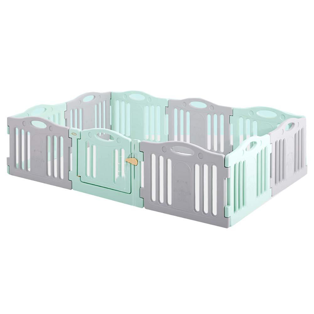 Juego para ni/ños Valla para beb/és Fence Baby Indoor Toddler Crawling Mat Safety Cerca Resistente a los Golpes Home Tama/ño : 5+1