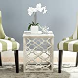 Safavieh American Homes Collection Lonny Distressed White End Table