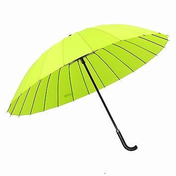 24 Sombreros Japón Paraguas Windproof Tres Personas Paraguas de Mango Largo el Hombre de Negocio Doble