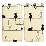 Bfun Packing Bcov Black Cat White Cat Magnetic Card Slot Stand Flip Leather Wallet Cover Case for iPhone 5 5G 5S