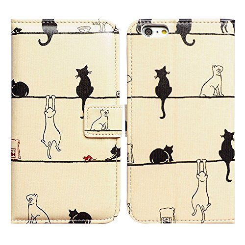 Bfun Packing Bcov Black Cat White Cat Magnetic - Cat Iphone 4 Case