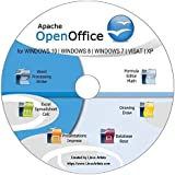 OpenOffice 2018 Full Latest Edition for ALL Windows and mac | Alternative to Microsoft Office: Compatible with Word, Excel and PowerPoint