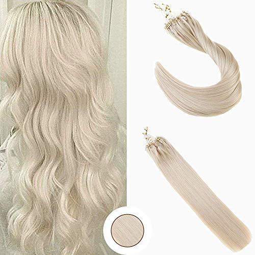 Ugeat Real Hair Microbeads Hair Extensions Bead Loop