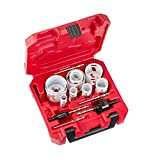 Milwaukee Tool Hole Dozer Bi-Metal Hole Saw Set (17-Piece) with Case (49-22-4029)