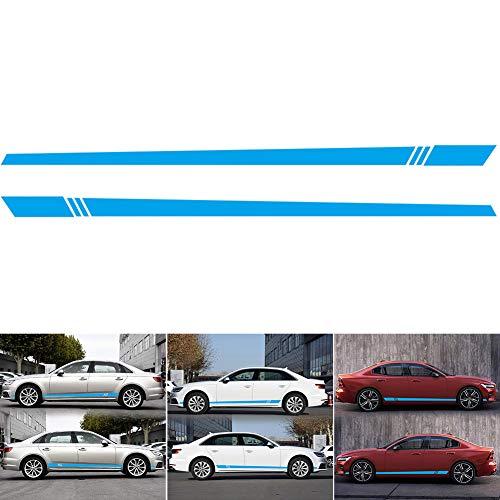 Iycorish Carbon Fiber Style For Range Rover Sport Rr Sport 2014-2017 Car Abs Chrome Inner Door Decoration Strip Trim Accessory