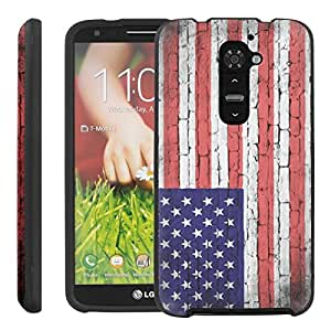 [ManiaGear] Design Graphic Image Shell Cover Hard Case (Flag USA Brick) for LG G2 / D800 / D801 / LS980
