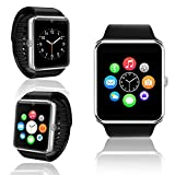 Indigi GT8 Stylish Bluetooth 3.0 Sync Smart Watch for Android iPhone Samsung HTC LG w/ Remote Shutter